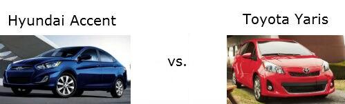 Hyundai Accent vs Toyota Yaris | McCafferty Hyundai Langhorne PA