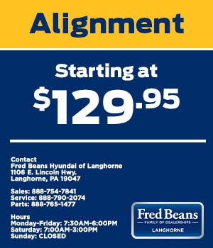 Alignment Starting at $129.95