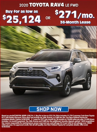 Buy for as Low as $25,124 OR Lease for $271 per Mo. for 36 Months!