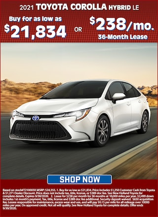 Buy for as Low as $21,834 OR Lease for $238 per mo. for 36 Months!
