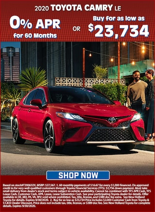 Get 0% APR for 60 Months OR Buy for as Low as $23,734!