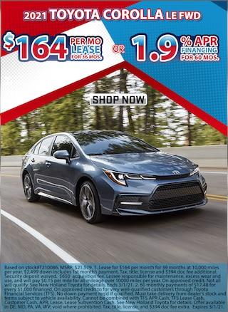Lease for $164 per month for 36 months or Finance with 1.9% APR for 60 Mos!