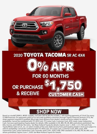 0% APR for 60 Months! Or Purchase & Receive $1,750 Customer Cash!