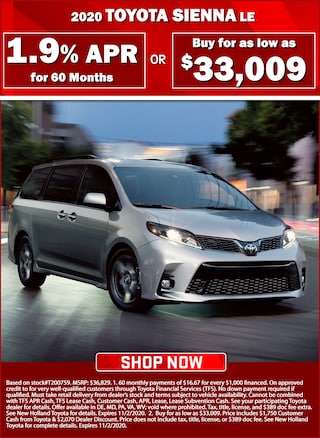 1.9% APR for 60 Months or Buy for $33,009!