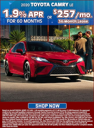 1.9% APR for 60 Months or Lease for $257 per month for 36 months!