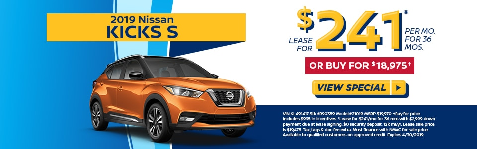 Nissan Kicks Lease Deal Doylestown Pa Fred Beans Nissan