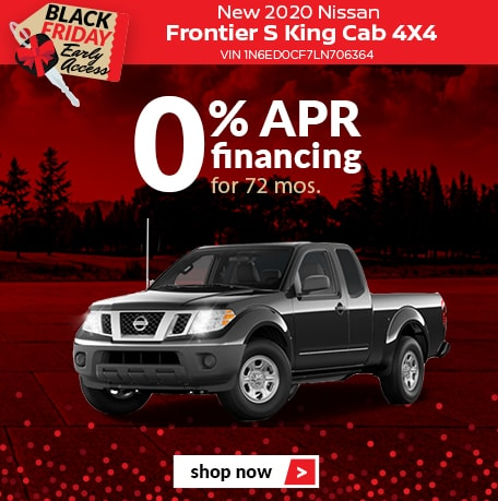 New 2020 Nissan Frontier S King Cab 4X4