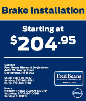 Brake Installation Starting at $204.95