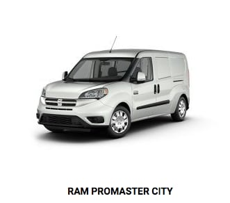 RAM Promaster City at Crown CDJR of Dublin.