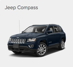 Jeep Compass at Crown CDJR of Dublin.
