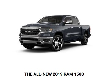 All-New 2019 RAM 1500 at Crown CDJR of Dublin.