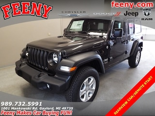 New 2018 Jeep Wrangler UNLIMITED SPORT S 4X4 Sport Utility for sale in Gaylord MI