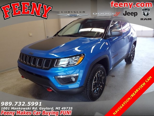 2018 Jeep Compass TRAILHAWK 4X4 Sport Utility for sale in Gaylord MI