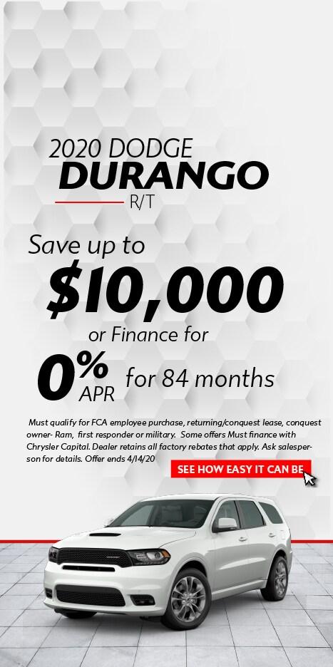 April Dodge Durango
