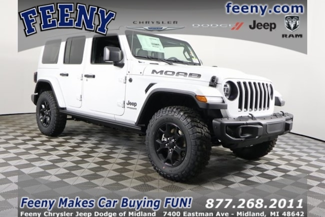 New 2019 Jeep Wrangler UNLIMITED MOAB 4X4 Sport Utility In Midland