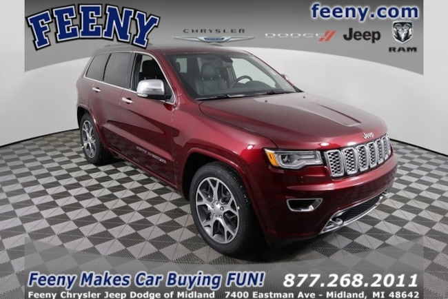New 2019 Jeep Grand Cherokee OVERLAND 4X4 Sport Utility In Midland