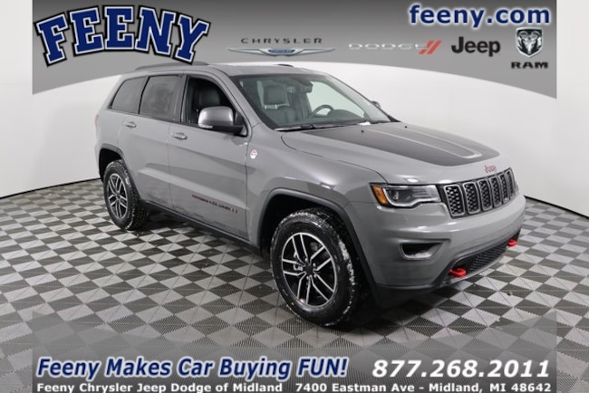 New 2019 Jeep Grand Cherokee TRAILHAWK 4X4 Sport Utility In Midland