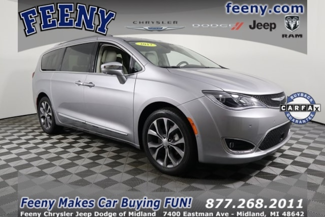 Used 2017 Chrysler Pacifica Limited Minivan/Van In Midland