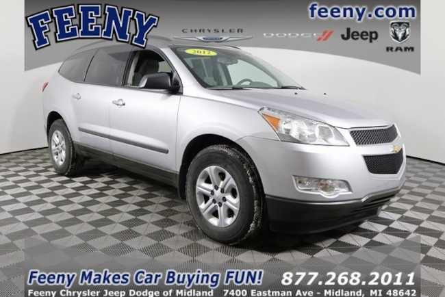 Used 2012 Chevrolet Traverse LS SUV In Midland