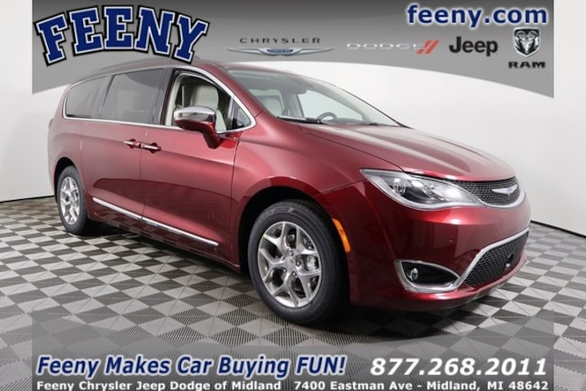 New 2019 Chrysler Pacifica LIMITED Passenger Van In Midland