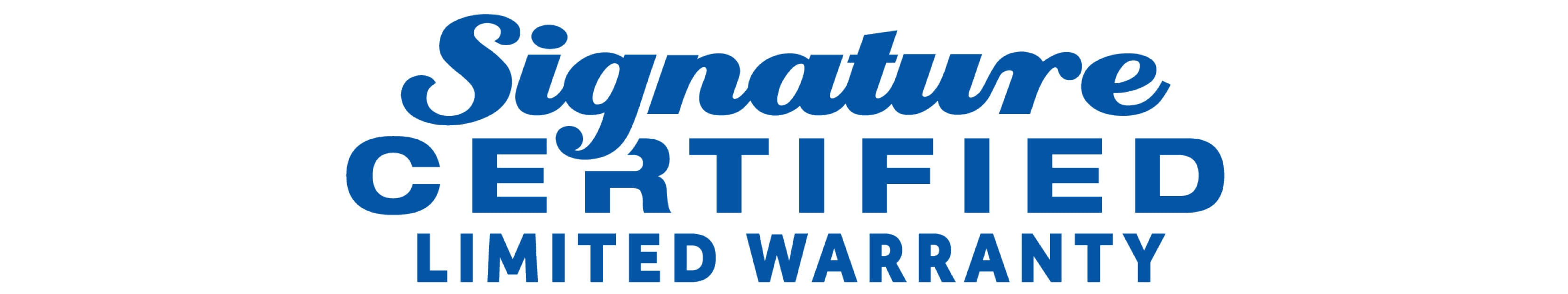 Signature Certified Limited Warranty | Fenton Family Dealerships
