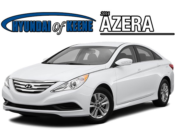 2014 hyundai azera hyundai of keene nh. Black Bedroom Furniture Sets. Home Design Ideas