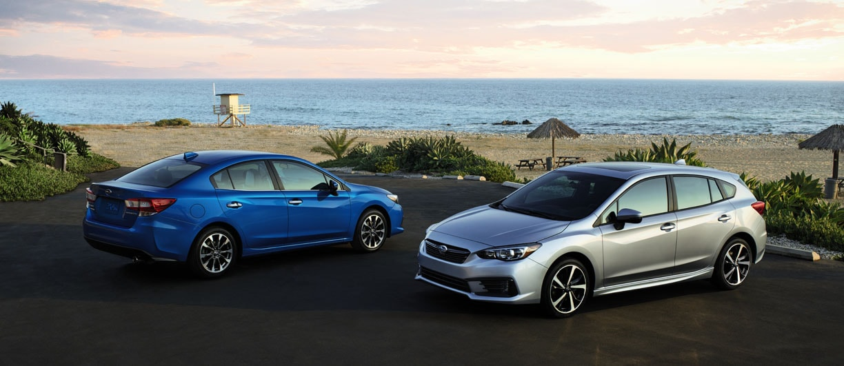 New 2020 Subaru Impreza Sedan and 5-Door