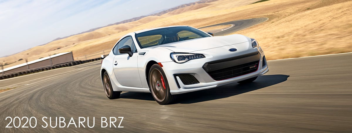 New 2020 Subaru BRZ header