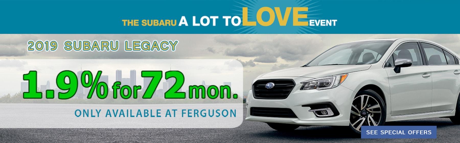 Ferguson Subaru | New & Used Subaru Sales in Broken Arrow, OK