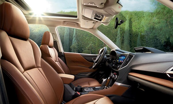2020 Subaru Forester Leather Interior
