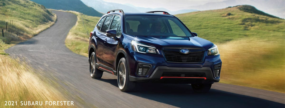 New 2021 Subaru Forester header