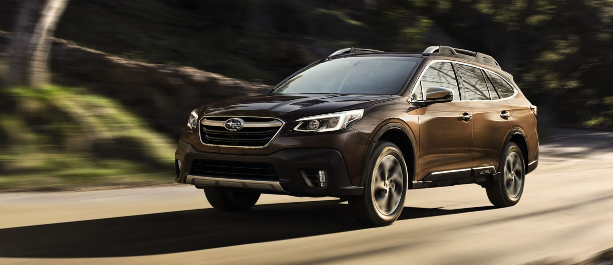 New 2021 Subaru Outback header