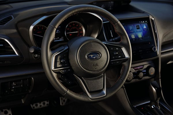 2020 Subaru Impreza Steering Wheel