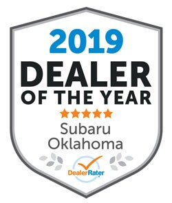 2019 Kia Oklahoma Subaru Dealer of the Year from DealerRater
