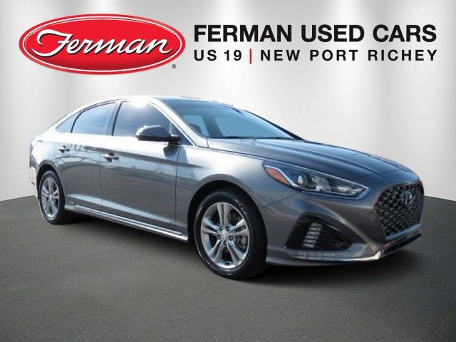 Used 2018 Hyundai Sonata Sport Sedan 5NPE34AF0JH674788 New Port Richey, FL