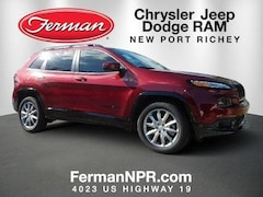 New 2018 Jeep Cherokee LATITUDE WITH TECH CONNECT PACKAGE FWD Sport Utility 1C4PJLCBXJD612209 in New Port Richey