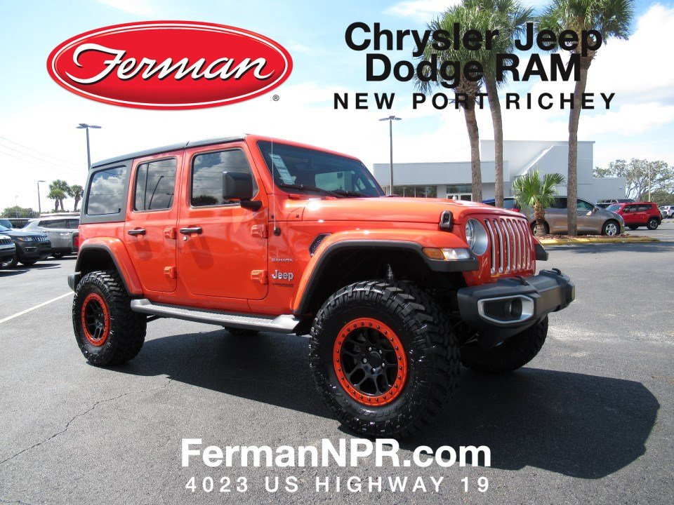 New 2018 Jeep Wrangler UNLIMITED SAHARA 4X4 Sport Utility New Port Richey,  FL