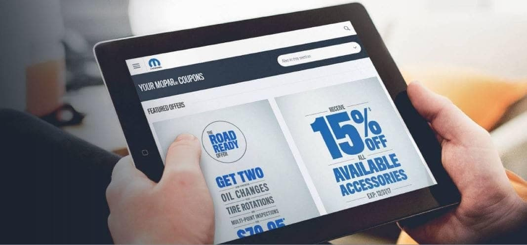 Mopar Coupons Online - Bedford, OH - Ganley Bedford Chrysler Jeep Dodge Ram