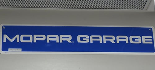 Mopar Parts & Accessories Department