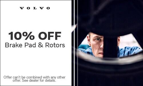 Brake Pad and Rotors 10% Off