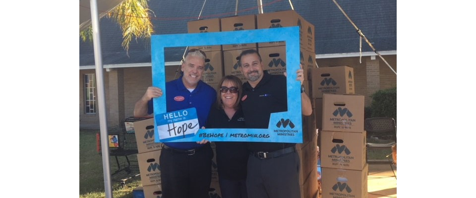 Ferman Volvo Employees at Metropolitan Ministries event