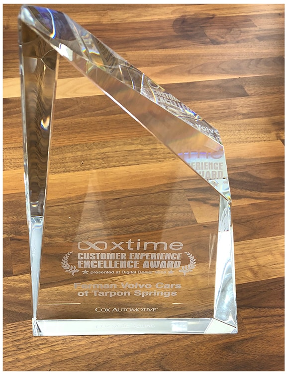 Xtime Guest Experience Excellence Award at the Digital Dealer's Conference & Expo in April 2018