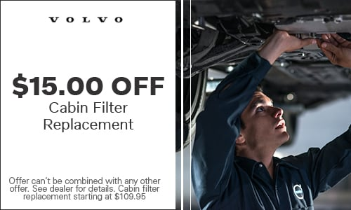 Cabin Filter Replacement $15 Off