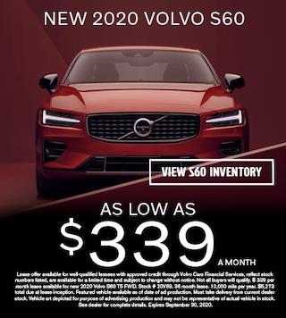 NEW 2020 VOLVO S60