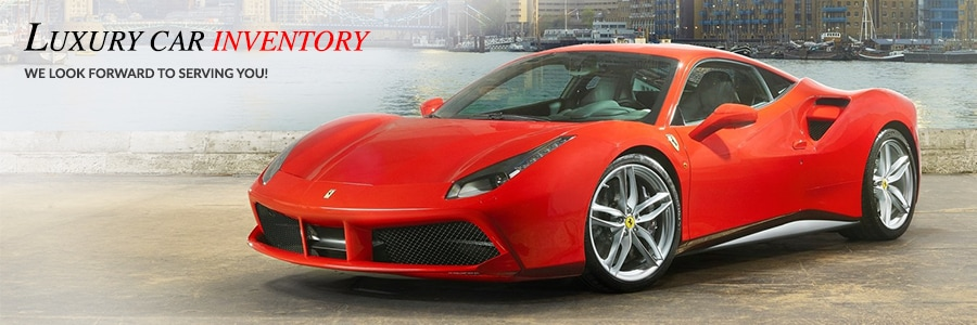 pre owned Ferrari and exotic vehicles