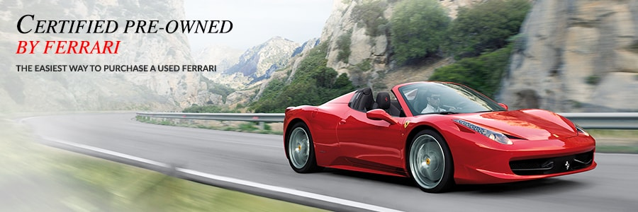 Certified Pre-Owned Ferrari in Fort Lauderdale FL
