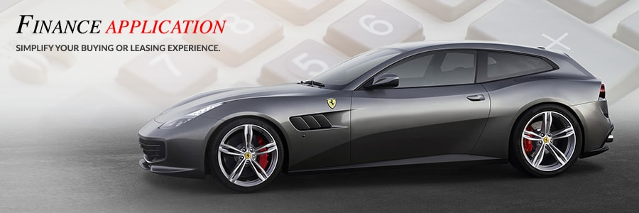 Ferrari Finance Application at Ferrari of Fort Lauderdale