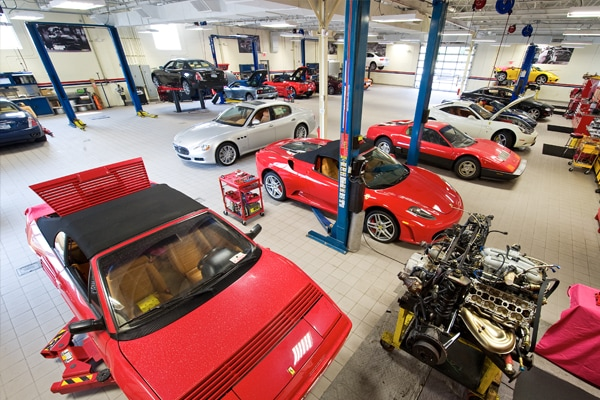 Ferrari Authorized Service Center