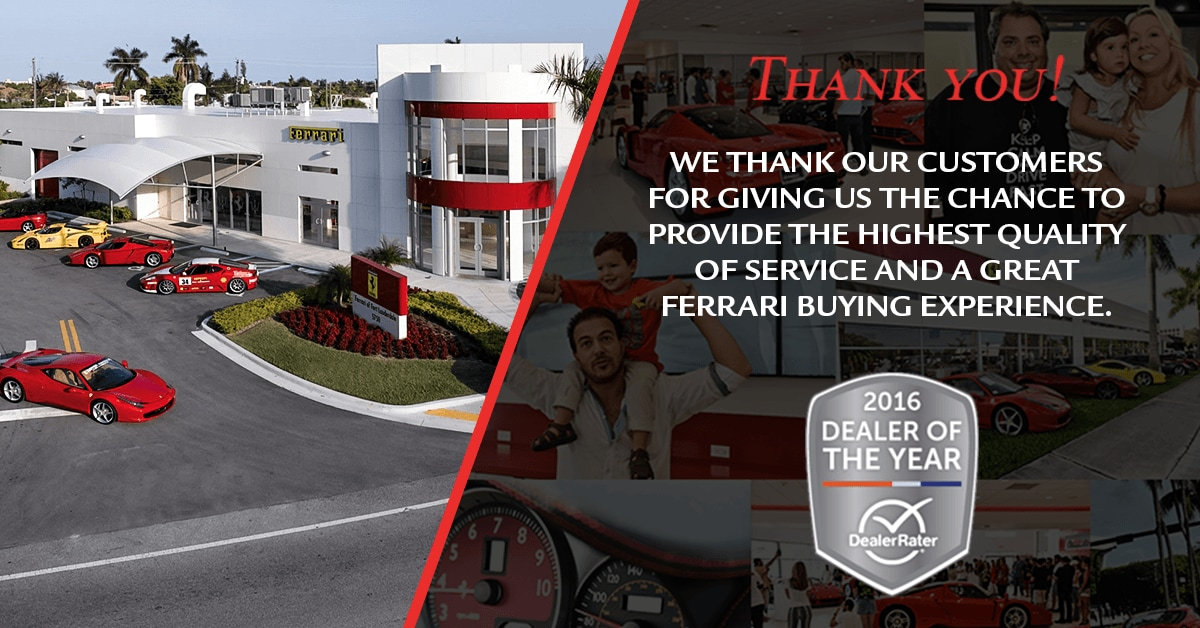 Ferrari Dealer rater