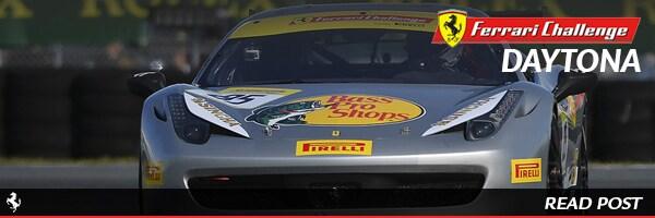 Ferrari Challenge Daytona Results